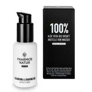 PHARMOS NATUR Cleansing & Shaving Gel For Men