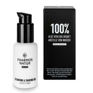 PHARMOS NATUR Cleansing & Shaving Gel For Men